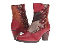 Spring Step Mia Red Women's Dress Boots