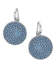 Swarovski Drop Earrings Blue