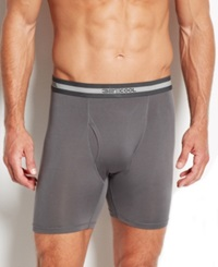 Weatherproof 32 Degrees Cool Performance Cycle Shorts Charcoal