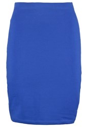 Zalando Essentials Pencil Skirt Royal Blue