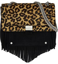 Claudie Pierlot Angela Suede Shoulder Bag Noir