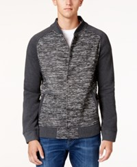 Ring Of Fire Men's Bomber Jacket Dark Gray