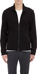James Perse Twill Zip Up Colorless Size 4 Xl