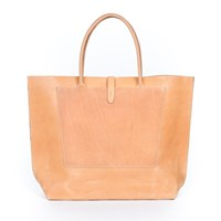 Wood And Faulk Structured Leather Tote