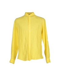 Gran Sasso Shirts Shirts Men Yellow