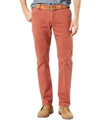 Dockers Better Broken In Slim Cargo Pants Orange