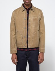 Rogue Territory Lined Waxed Supply Jacket Tan