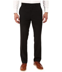 Kenneth Cole Reaction Slim Fit Separate Pants Black Men's Dress Pants
