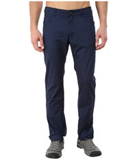 Black Diamond Stretch Font Pants Captain Men's Casual Pants Blue