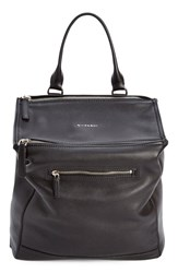 Givenchy 'Pandora' Waxy Leather Backpack Black