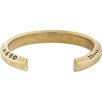 Giles And Brother Men's Hex Cuff Beige