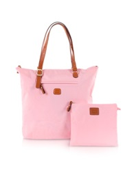 Bric's X Bag Large Foldable Tote Pink