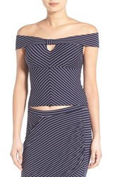 Women's Leith Stripe Off The Shoulder Top
