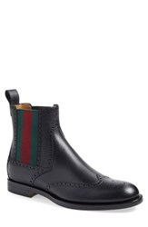 Men's Gucci 'Strand' Wingtip Chelsea Boot