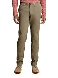Billy Reid Lauderdale Chino Pants Brown
