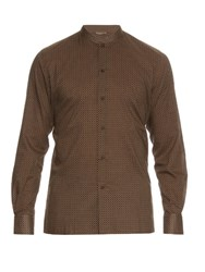 Bottega Veneta Vintage Print Cotton Poplin Shirt Multi
