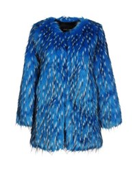 Unreal Fur Coats And Jackets Faux Furs Women Azure