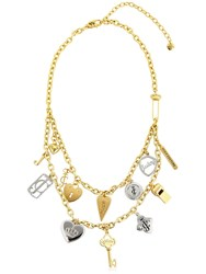 Juicy Couture Charms Chain Necklace