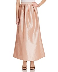 Marina Long Taffeta Skirt Compare At 129 Blush