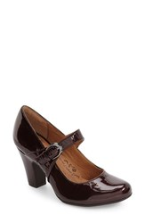 Sofft Women's 'Miranda' Mary Jane Pump Chianti Patent Leather