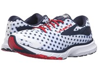 Brooks Launch 3 White Peacoat Navy True Red Women's Running Shoes
