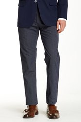 Brooks Brothers Poplin Pindot Stripe Pant Blue