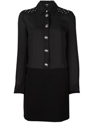 Versus Shirt Dress Black