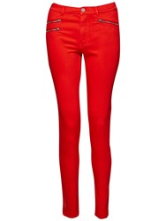 French Connection Lily Super Skinny Jeans Masai Red