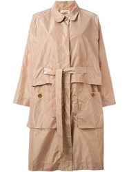 Henrik Vibskov 'Zoom' Coat Nude And Neutrals