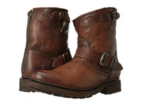 Frye Valerie 6 Cognac Antique Soft Vintage Shearling Cowboy Boots Brown