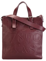 Assouline 'Didot' Bookbag Tote Pink And Purple