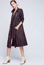 Anthropologie Jaime Trench Black