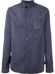 No21 Patch Pocket Shirt Blue