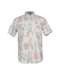 Deus Ex Machina Shirts Shirts Men Ivory