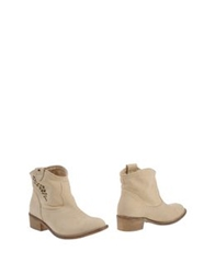 Tosca Blu Ankle Boots Beige
