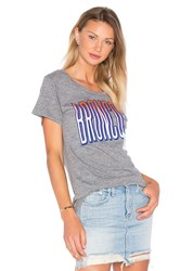 Junk Food Denver Broncos Tee Gray