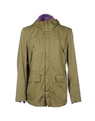 Novemb3r Jackets Military Green