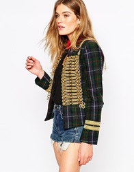Denim And Supply Ralph Lauren Denim And Supply By Ralph Lauren Officer Wool Jacket Highlandplaid