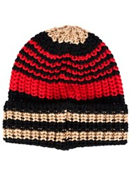 Sonia Rykiel Striped Beanie Multicolour