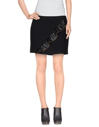 Frankie Morello Mini Skirts Black