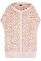 Missoni Hooded Wool Blend Boucle Vest