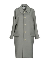 Julien David Coats Light Grey
