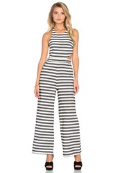 Mara Hoffman Cut Out Jumpsuit Ivory