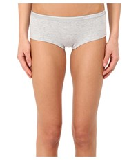 Emporio Armani Essential Stretch Cotton Cheeky Pants Grey Melange Women's Underwear Gray