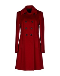 Fabrizio Lenzi Coats Red