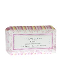 Relax Shea Butter Soap Lollia
