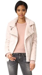 J.O.A. Moto Jacket Dusty Pink