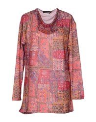 Antik Batik Topwear Long Sleeve T Shirts Women Pink