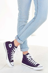 Converse Chuck Taylor All Star Seasonal High Top Sneaker Dark Purple
