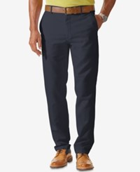 Dockers Signature Stretch Slim Tapered Fit Flat Front Khaki Pants Dockers Navy